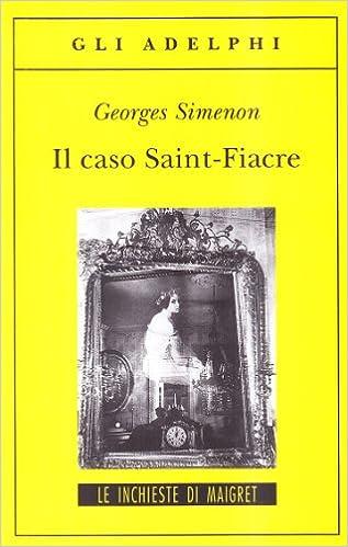 Book Il caso Saint-Fiacre