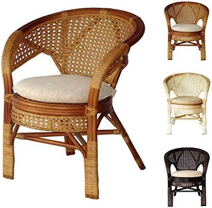Pelangi Handmade Rattan Dining Wicker Chair W/Cushion