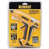 DeWALT DWHTGR50 Rapid Heat Ceramic Glue Gun, Yellow