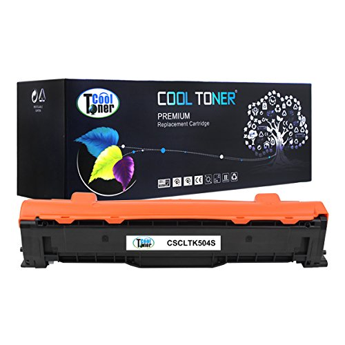 Cool Toner 1 Pack 2,500 Pages Black Compatible Toner Cartridge Replacement for Samsung CLT-K504S Used For Samsung CLX-4195FW 4195FN Xpress SL-C1860FW CLP-415NW CLP-415N CLX-4195 CLX-4195N