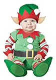 California Costumes Infant Christmas Elf, Green/Red