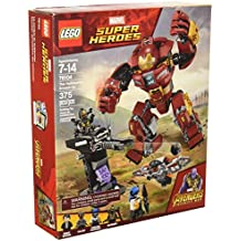 [Patrocinado] LEGO Marvel Super Heroes Los Vengadores: Infinity 76104 War The Hulkbuster Smash-Up - Kit de construcción (375 piezas)