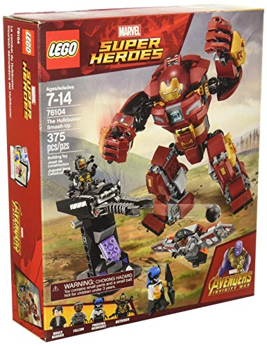 LEGO Marvel Super Heroes Avengers: Infinity War The Hulkbuster Smash-Up 76104 Building Kit (375 -