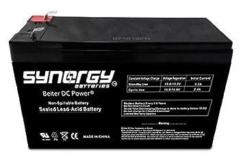 com v ah battery repl for apc back ups xs rbc  12v 9ah battery repl for apc back ups xs1000 rbc32 33