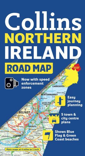 Northern Ireland Road Map Collins (International Road Atlases)