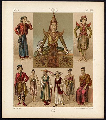 1880 costume dress - 8