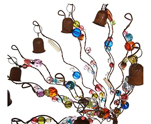 Ultimate Innovations Bells and Beads Garden Stake