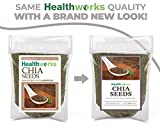 Healthworks Chia Seeds Raw (32 Ounces / 2 Pounds) | Pesticide-Free, Premium & All-Natural | Contains Omega 3, Fiber & Protein | Great with Shakes, Smoothies & Oatmeal