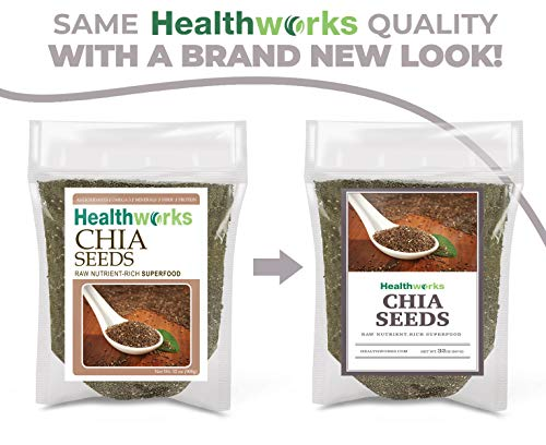 Healthworks Chia Seeds Raw 2 Pound