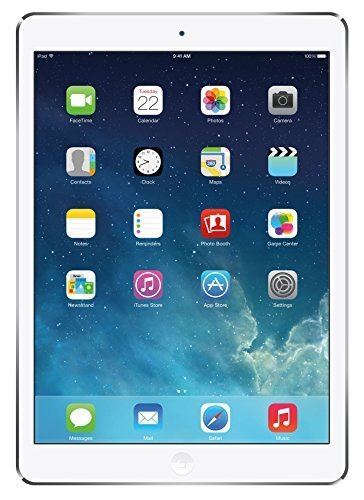Apple iPad Air 16GB Silver Retina Display Wi-Fi +4G AT&T Tablet(Refurbished)