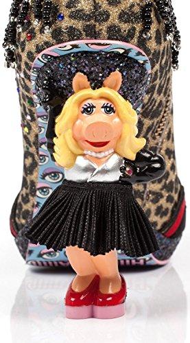 Onregelmatige Keuze Unisex-volwassenen Muppets Felle Piggy-laarzen - 6 Uk / 8 B (m) Us / 39 M Eu, (meerkleurig)