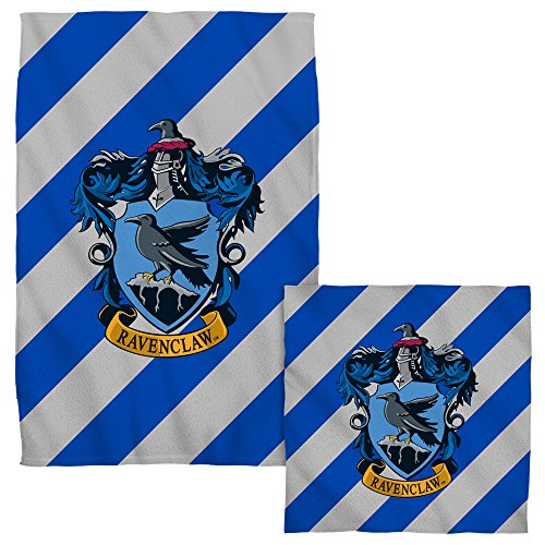 Ravenclaw Crest -- Harry Potter -- Face & Hand Towel Set by Harry Potter