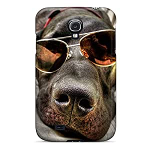 Hard Plastic Galaxy S4 Case Back Cover,hot Cool Dog Case At Perfect Diy by icecream design