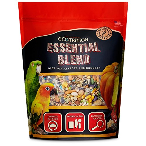 - eCOTRITION Essential Blend Food for Parrots and Conures, 3 lbs.