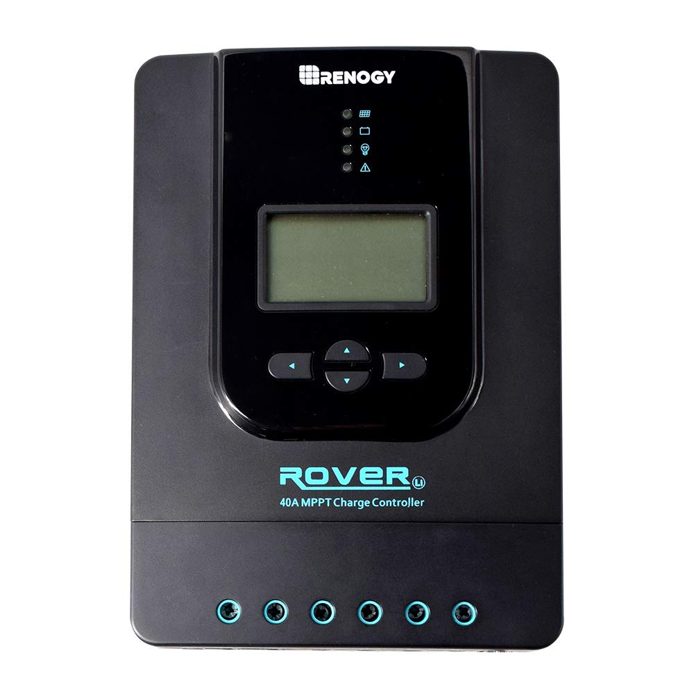 Renogy 400 Watt 12 Volt Monocrystalline Solar Starter Kit with 40A Rover MPPT Charge Controller by Renogy (Image #3)
