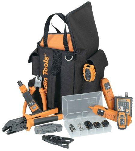 Ultimate Technician Tool Kit - Greenlee 4933 Ultimate Premise Service Tool Kit with Ultimate Tool Bag