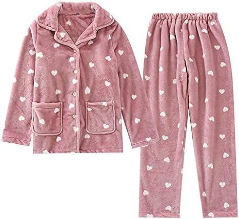 Ycxydr Pijama La Sra Nueva Caliente del Invierno de Franela ...