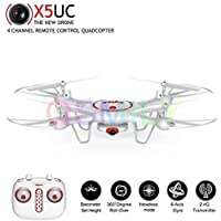 Qsmily Syma X5UC 4CH 6-Axis Gyro RC Quadcopter Drone With 720P HD Camera Altitude Hold