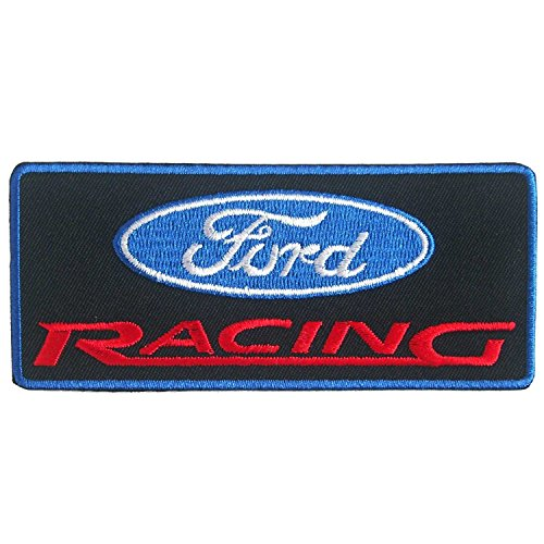 Ford Shelby Mustang Racing Embroidered Iron on Patch # BL - Mustang Patch