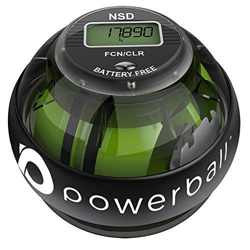 Powerball NSD 280Hz Autostart Ejercitador de Brazo, y Fortalecedor de Antebrazos, Mano y Muñeca, Negro
