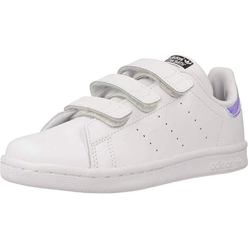Zapatillas para niña, Color Blanco, Marca ADIDAS ORIGINALS, Modelo Zapatillas para Niña ADIDAS ORIGINALS Stan Smith CF C Blanco: Amazon.es: Zapatos y ...