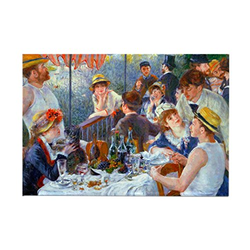 - CafePress Renoir - Boating Party Rectangle Magnet Rectangle Magnet, 2