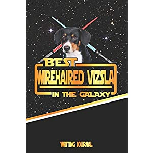 Best Wirehaired Vizsla In The Galaxy Writing Journal 24