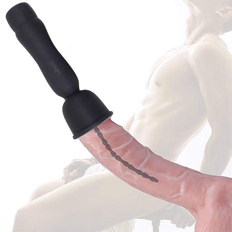 Roxanne Dilatador de Silicona, Vibrador de uretra Suave Hombres Dilatador para Estiramiento de uretra17 Niveles