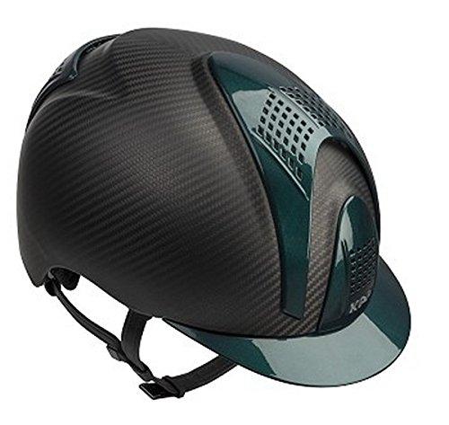 KEP ITALIA Cap Light Matt 2 Green Inserts Cascos Equitación: Amazon.es: Deportes y aire libre