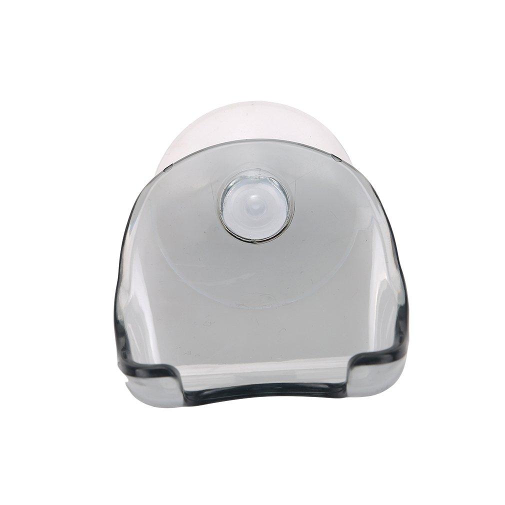 Lalang Suction Razor Holder Bathroom Shaver Holder Suction Cup Hook (grey) 88-store
