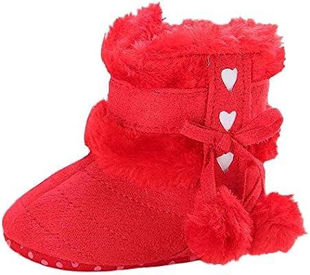 e88544975956e Ouneed® 0-18 mois Bebe Naissance Souple Chausson Verlous Boots (12 ...