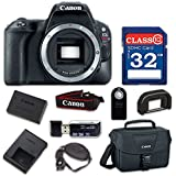 Canon EOS Rebel SL2 Digital SLR Camera Body Only - WiFi Enabled with 32GB Class 10 Memory Card, Wireless Remote & 100ES Shoulder Bag