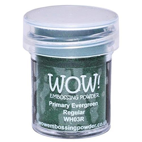 Wow! Embossing Powder 15Ml-Evergreen by Wow Embossing Powder