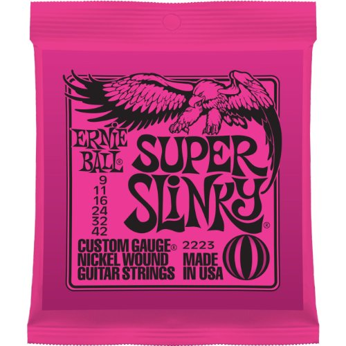 Ernie Ball 2223 Super Slinky Electric Strings – .009-.042, Outdoor Stuffs