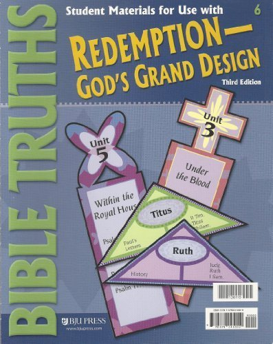 Bible Truths Student Materials Packet Grade 6 3rd Edition