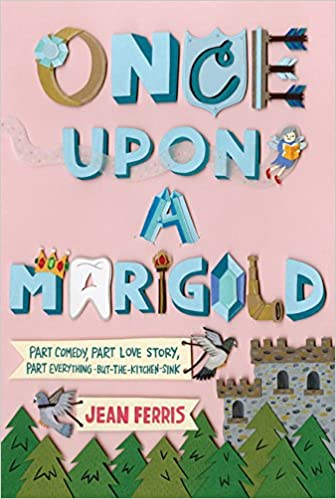 Jean Ferris once upon a marigold cover fantasy children humor