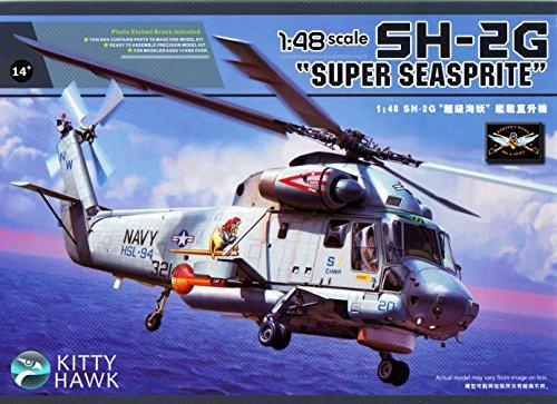 KTH80126 1:48 Kitty Hawk SH-2G Super Seasprite Helicopter [MODEL BUILDING ()