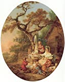 PRINCE JEAN BAPTISTE SCENE RUSSIAN EVERYDAY LIFE FRENCH 81 ARTIST PAINTING CANVA 48x40inch