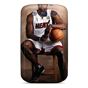 Defender Case With Nice Appearance (dwyane Wade Miami Heat) For Galaxy S3