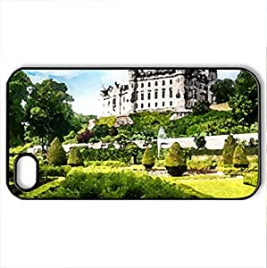 Beautiful place - Case Cover for iPhone 4 and 4s (Modern Series, Watercolor style, Black)