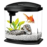 Aqueon LED MiniBow Aquarium Kit Black