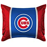 Chicago Cubs SIDELINES Jersey Material Pillow Sham