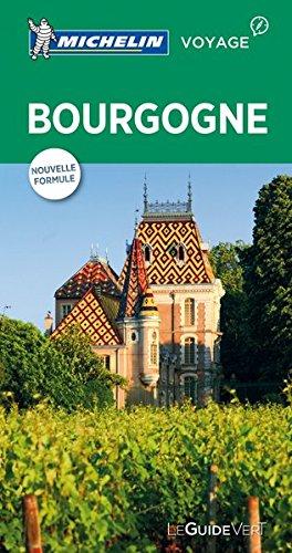 Carte Bourgogne Michelin.Guide Vert Bourgogne Collectif Michelin 9782067215771