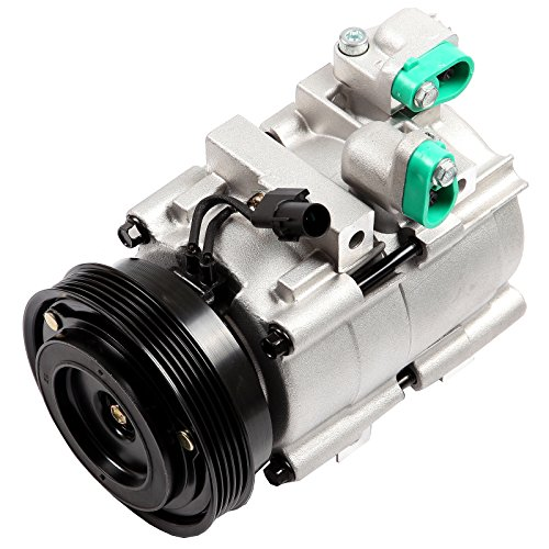 TUPARTS Air Conditioning Compressor and Clutch Assembly Replacement for Hyundai Santa Fe Sonata Kia Magentis Optima 1999-2006 (2002 Hyundai Santa Fe Air Conditioning Problems)
