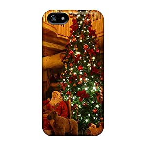 Top Quality Case Cover For Iphone 5/5s Case With Nice Chrismtas Appearance