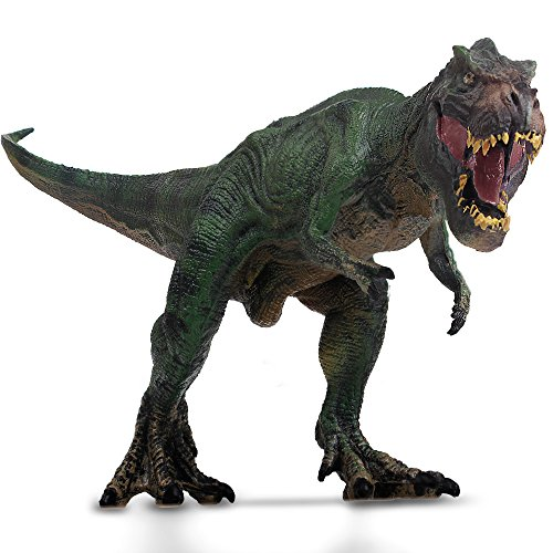 Tyrannosaurus rex Mini Dinosaur Figures of toys for cool kids Great gift toddler educational toy animals (Model Tyrannosaurus)