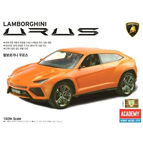 Academy 1/43 Scale Lamborghini URUS / 15527 / Plastic Model Assembly Kit /  Do