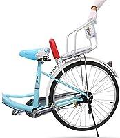XIONGG Asiento Trasero De La Bicicleta De Bebé, con Espaldar De Los Asientos Pedales, De Seguridad para Niños Porta-Bicicletas Universal Rack: Amazon.es: Deportes y aire libre