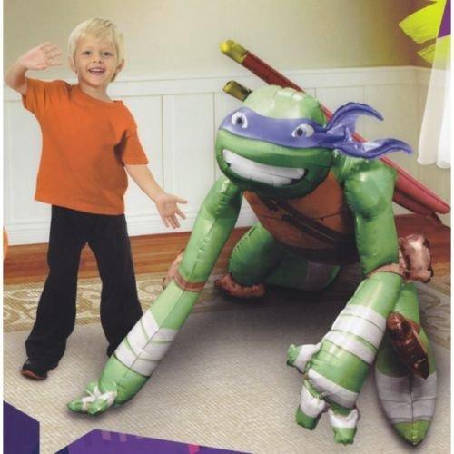 Nickelodeon Ninja Turtles Birthday Party Balloon 44 Inches Foil Balloon Air Walker