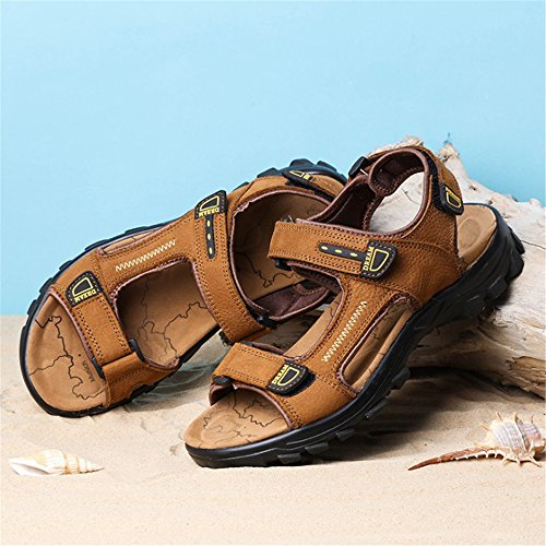 Men's spiaggia Wagsiyi da 0 Beach Shoe pantofole 0 Traspiranti Giallo Gialli 24 Magic Stick Sandal Outdoor 27 CM Sandali Sports Scarpe nEH8EZ